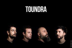 """Fotografías correspondientes a la promoción del disco """"Vortex"""" de Toundra. 2018."""